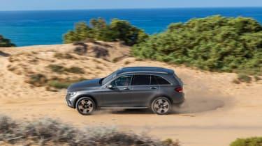 2019 Mercedes GLC SUV - off-road