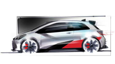 The car has been developed by Toyota's Gazoo Racing sub-brand