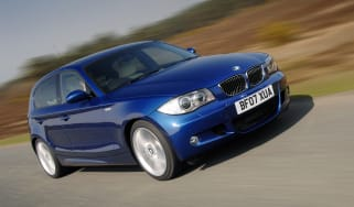 BMW 1 Series hatchback 2007 front tracking