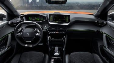 New Peugeot 2008 - interior dash