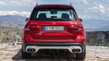 2020 Mercedes-AMG GLB 35 - rear static view