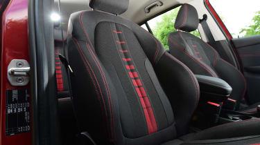 BMW 2 Series Gran Tourer front seat design
