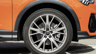 The Audi Q3 comes as standard with either 17 or 18-inch alloy wheels.