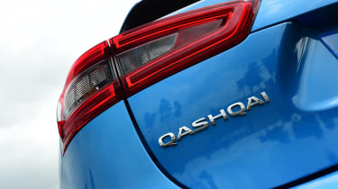 Nissan Qashqai - rear badge