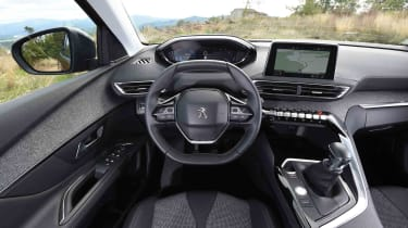 Its classy driving environment is one of the 3008's strongest attributes