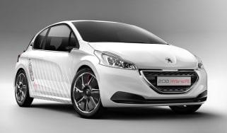 peugeot 208 hybrid fe concept 2013 front