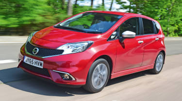 Nissan Note front