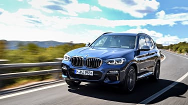 It's available in the UK with 2.0-litre and 3.0-litre diesels, and as the 3.0-litre petrol M40i shown in these images.
