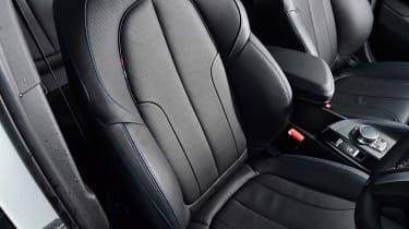BMW X2 SUV front seats