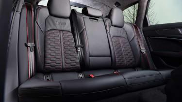 Audi RS6 Avant estate rear seats