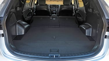 In the seven-seat version, there's 516-litres of space in the boot, while the five-seat version has 585 litres