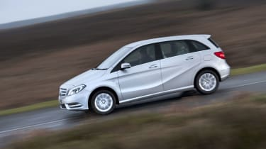 The B200d and B220d use a larger 2.1-litre diesel with 134 or 175bhp for improved performance