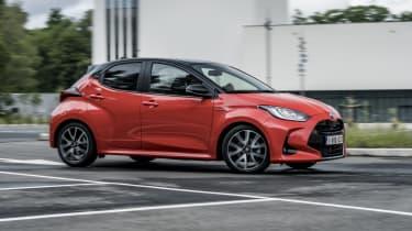 2020 Toyota Yaris - Front 3/4 dynamic