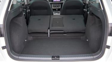 SEAT Ateca SUV boot seats folded