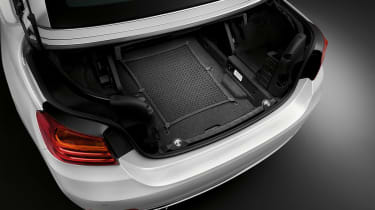 BMW 4 Series convertible boot
