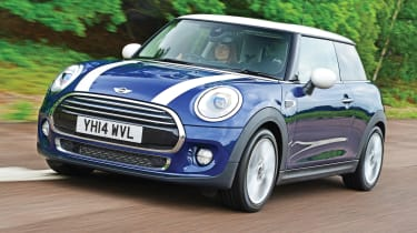 Main rivals include the Fiat 500, Ford Fiesta and VW Polo