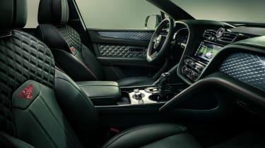 2020 Bentley Bentayga SUV - front seats