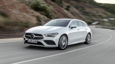 2019 Mercedes CLA Shooting Brake - front driving