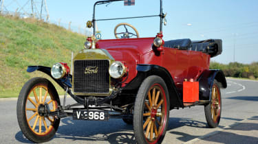 Many Model T owners chose their cars in colours other than black