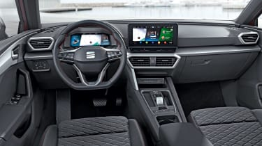 2020 SEAT Leon - interior
