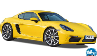 Porsche 718 Cayman Best Buy cutout