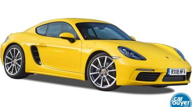 Porsche 718 Cayman Best Buy cutout