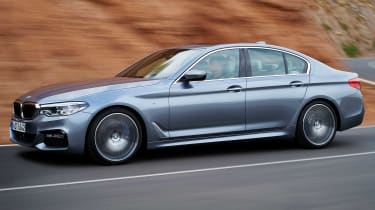 It may look similar to the outgoing car, but the latest 5 Series is completely new under the metal