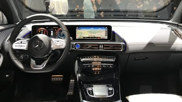 Mercedes EQC interior