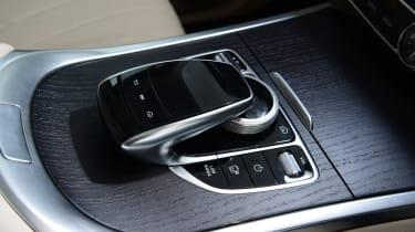Mercedes G-Class SUV gear selector