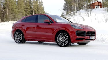 Porsche Cayenne Coupe GTS side view