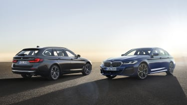 New 2020 BMW 5 Series saloon and Touring - static