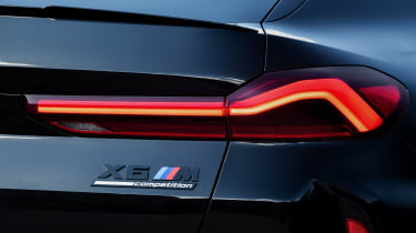 BMW X6 M Competition tail-light