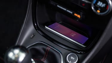 2020 Ford Puma - wireless charging dashboard