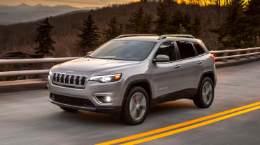 The 2018 Cherokee has a revised front end