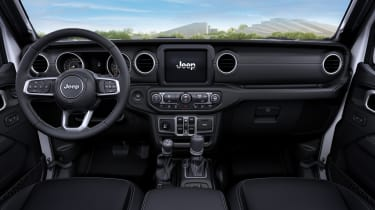 2021 Jeep Wrangler 80th Anniversary interior