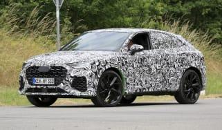 Audi RS Q3 Sportback front three quarter dynamic prototype