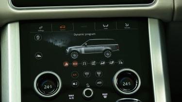 2020 Range Rover Vogue P400 - Climate control
