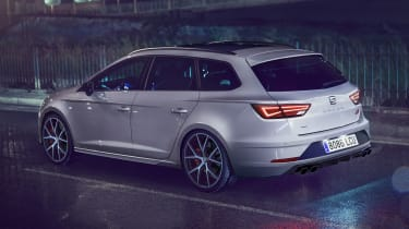 2018 SEAT Leon ST Cupra Carbon Edition rear