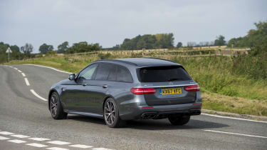 ... it has 604bhp on tap. Both models have the option of a speed limiter raised to 186mph