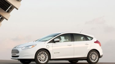 While the Ford Focus is a common sight on the road, the Focus Electric sells in small numbers
