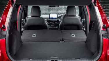 Ford Kuga Plug-in Hybrid boot seats folded