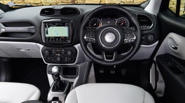 Jeep Renegade interior
