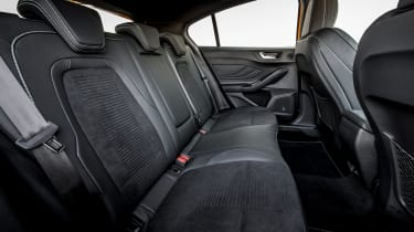 Ford Focus ST hatchback rear seats