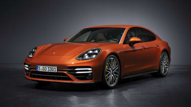 2020 Porsche Panamera Turbo S in studio
