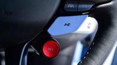 Hyundai i20 N hatchback driving mode selector