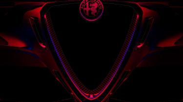 Alfa Romeo Giulia GTA grille teaser
