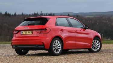 Audi A1 2019 rear quarter