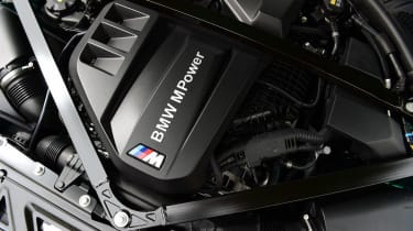 BMW M3 Competition saloon - engine