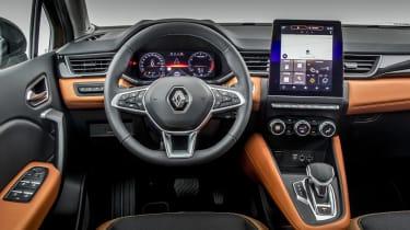 2020 Renault Captur - dashboard close up