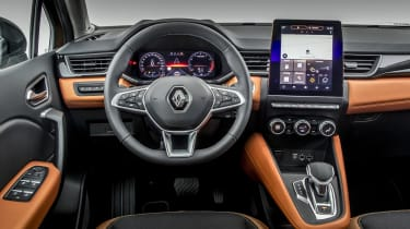 2020 Renault Captur - dashboard close up